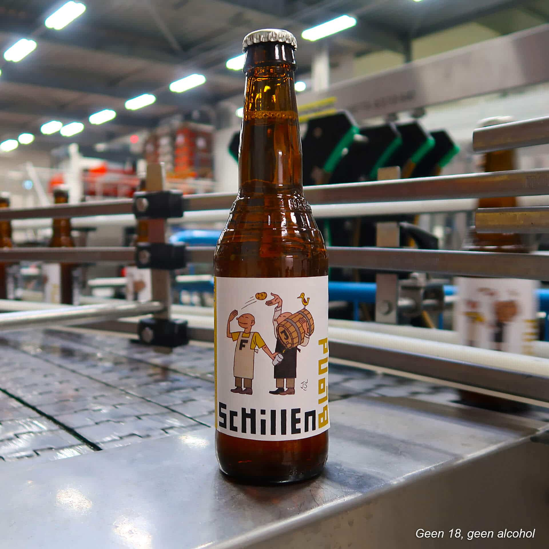 Schillen Blond bier FrietHoes